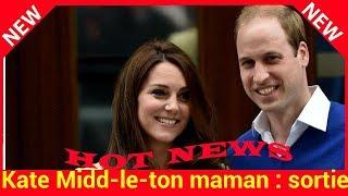 Kate Middleton maman : sortie de la maternité, premières photos, découvrez tout ce qu'il va se