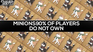 FFXIV - Minions 90% Of Players Do Not Own