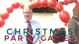 Funny & Simple Christmas Party Games