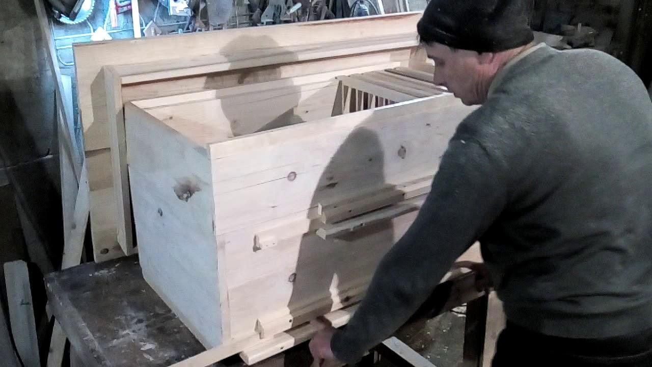 Ютуб изготовление ульев своими руками 40