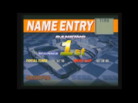 SCUD RACE - First Place All Courses - Arcade PCB
