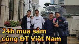 Thử thách bóng đá đi mua sắm cùng Bùi Tiến Dũng , Hà Đức Chinh Quang Hải & ĐT Việt Nam tại Hàn Quốc