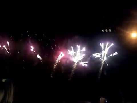Fogo de Art�ficio na festa da Gl�ria do Ribatejo