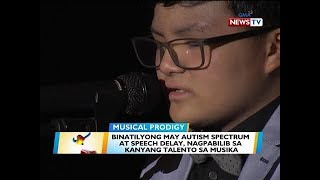 BT: Binatilyong may autism spectrum at speech delay, nagpabilib sa kanyang talento sa musika