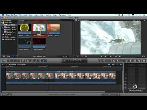 Creating Subclips in Final Cut Pro X