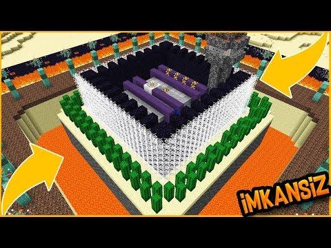 BU EVE HIRSIZ GİRMESİ İMKANSIZ - Minecraft