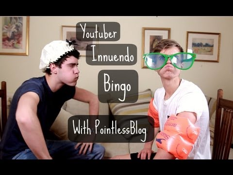 Youtuber Innuendo Bingo With PointlessBlog