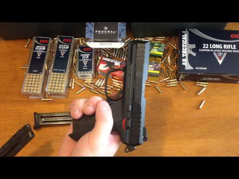 Ruger SR 22 Pistol Review and Ammo Guide
