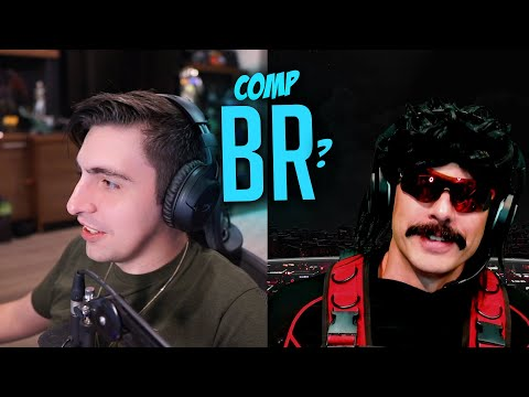 Shroud and DrDisrespect Debate Current Competitive BR's