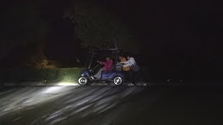 We got stranded in the middle of the night..