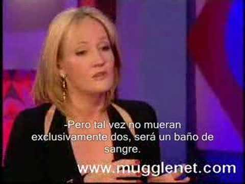 JK Rowling Interview with Jonathan Ross con Subtitulos