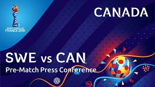 SWE v. CAN - Canada Pre-Match Press Conference