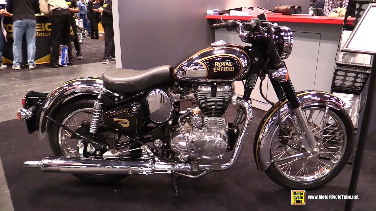 Royal Enfield Classic Chrome Modified 2015 Royal Enfield Classic 500