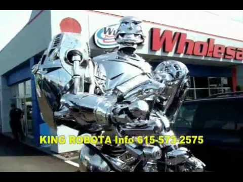 8 Foot Tall ROBOT SHOW For Sale Worldwide