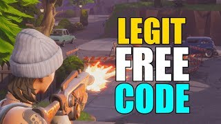 Fortnite Save the World Free Code | [OPEN]