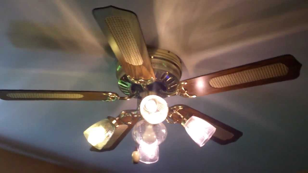 52 Quot Murray Feiss Hugger Cane Ceiling Fan Youtube