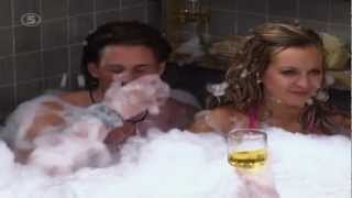 Big Brother 2006 - Anton och Carina i jacuzzin