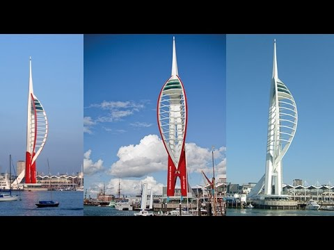 Emirates Spinnaker Tower Deal: Donna Jones and Sir Tim Clark