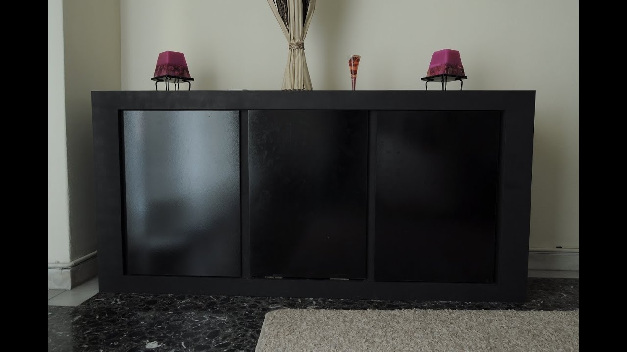 Diy 40 buffet furniture with 4mm mdf minimalistic style for Homemade mdf furniture