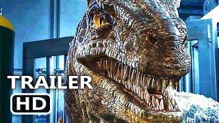 JURASSIC WORLD 2 International Trailer (2018) Chris Pratt Dinosaur Movie HD