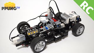 LEGO Technic RC car (Electronic Control Transmission & Mindstorms EV3) by 뿡대디