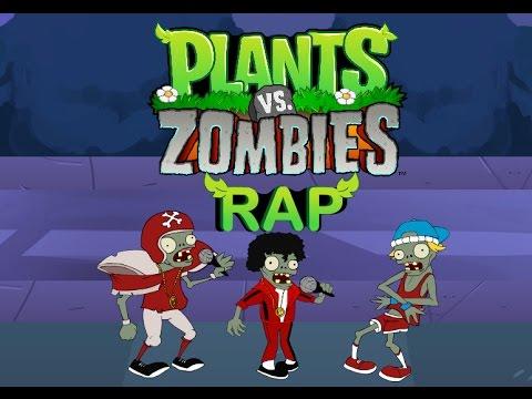 La aventura de Plantas vs Zombies ( RAP )