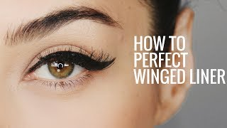 HOW TO:  Perfect Winged Eyeliner | 8 Steps for Perfect Cat Eye Everytime