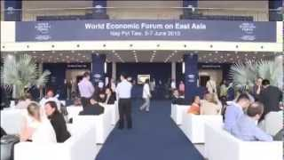 World Economic Forum 2013 in Myanmar June 5 2013
