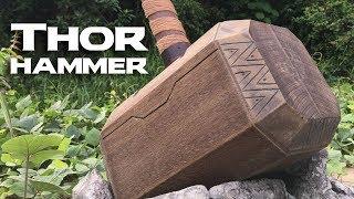 Making a Sabahan Thor Hammer
