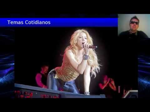 Shakira Su Primer Dia en el Reality The Voice