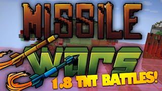 Minecraft MISSILE WARS | NEW Minecraft 1.8 TNT Mini Game (Bajan Canadian, JeromeASF, Noochm)