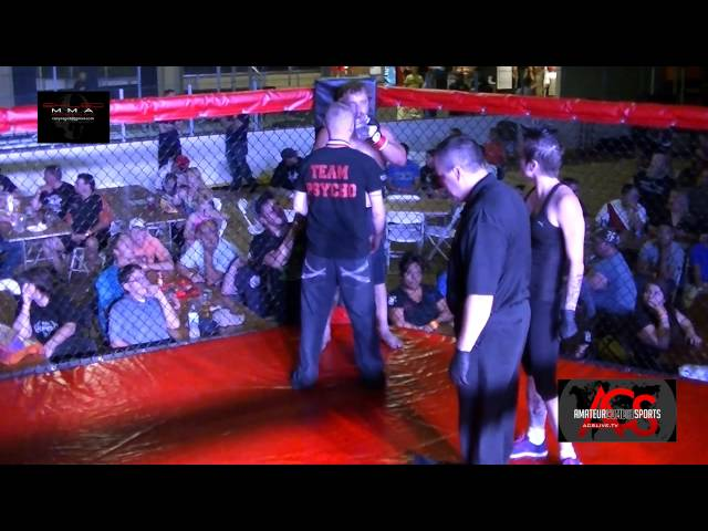 Exiled MMA American Muscle Fight 1