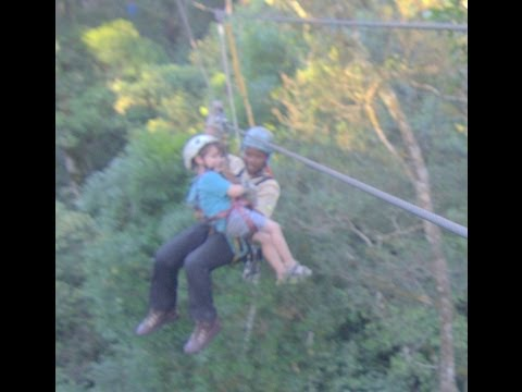 CANOPY TOUR TSISIKAMMA NATIONAL PARK EASTERN CAPE SOUTH AFRICA