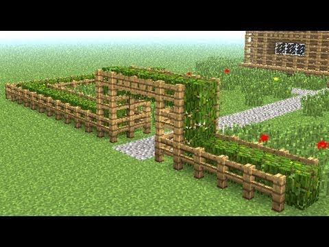 Забор - Minecraft Wiki Заборы майнкрафт крафт