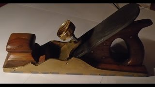 Making an Infill Dovetail Panel Plane - ToolMake15