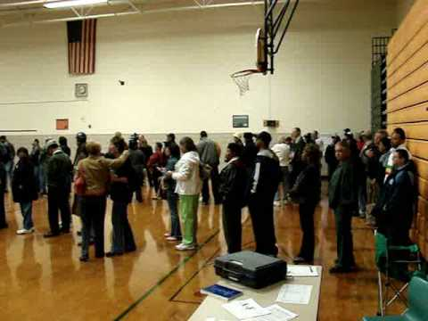 Election 2008 - Ruffner Middle School Long Lines