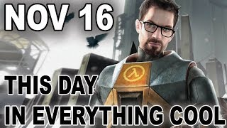 Half-Life 2 Confirmed! - This Day In Everything Cool for Nov 16 - Electric Playground