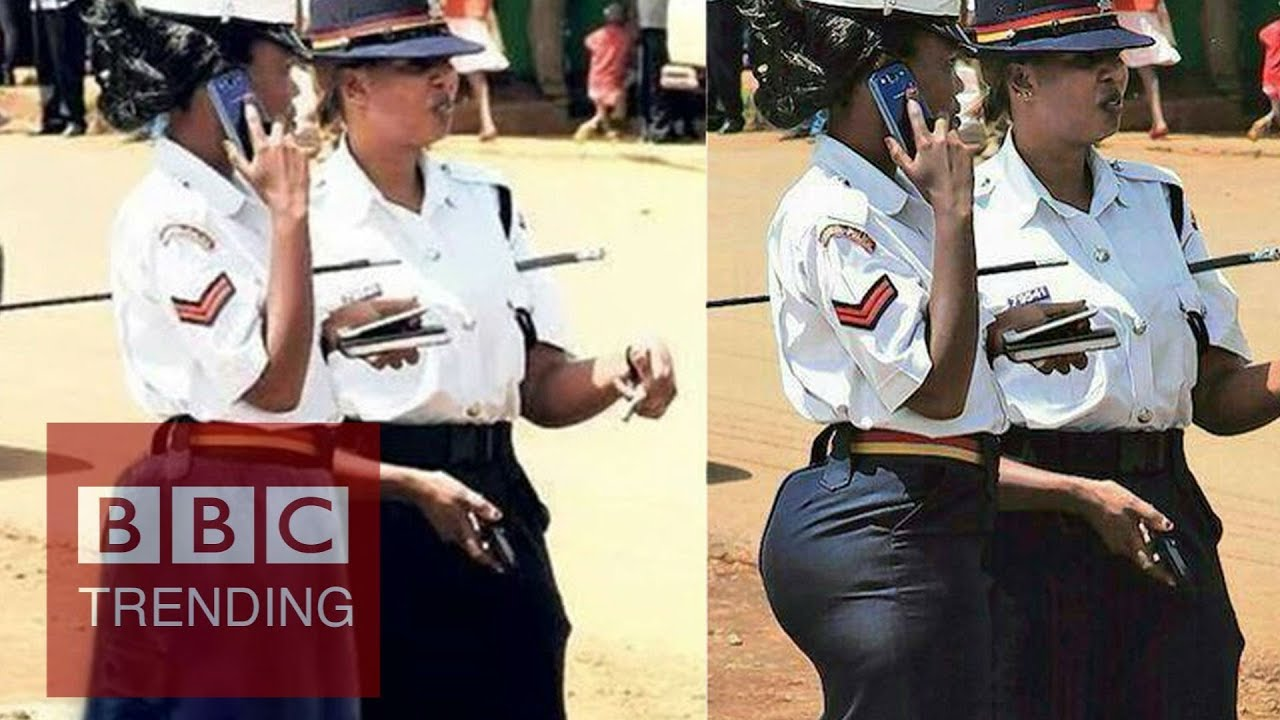 Too sekxy for Kenya's police?