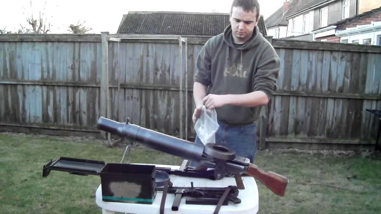 Airsoft Custom Lewis Gun