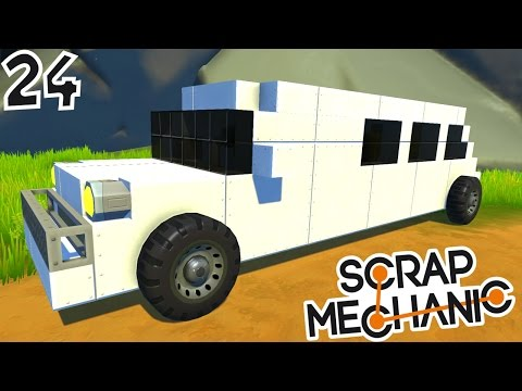 CONSTRUCTION D'UNE LIMOUSINE ! | Scrap Mechanic ! #Ep24