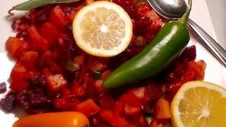 Potatoes, Tomatoes, Beets and more Ethiopian Vegetarian dish