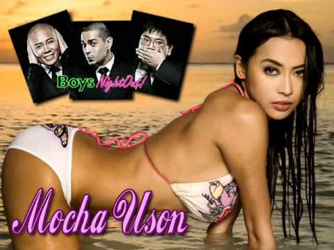 Mocha Uson with the BOYS of the BNO