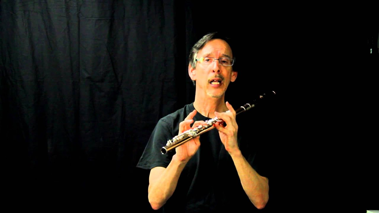how to play high notes on flute softly