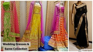 Pakistani Wedding Dresses and Saree Collection From City Tower | Ayesha N