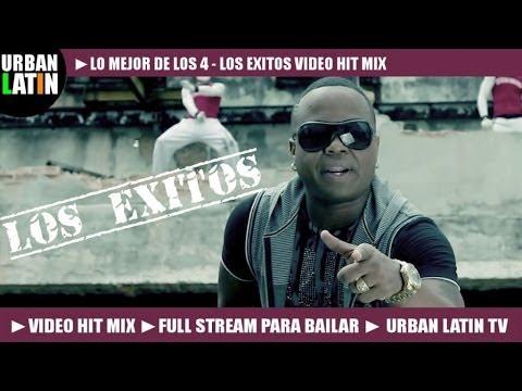 LOS 4 ► LOS EXITOS BEST OF ► MEGA VIDEO HIT MIX ► FULL STREAM