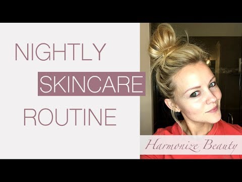 My nightly skin care routine!