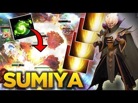 Sumiya Invoker God - Wombo Combo + Cataclysm Plays - Dota 2