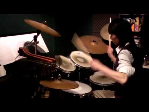 Mr.big-go Go Power Ranger(drumcover24-02-2011) video
