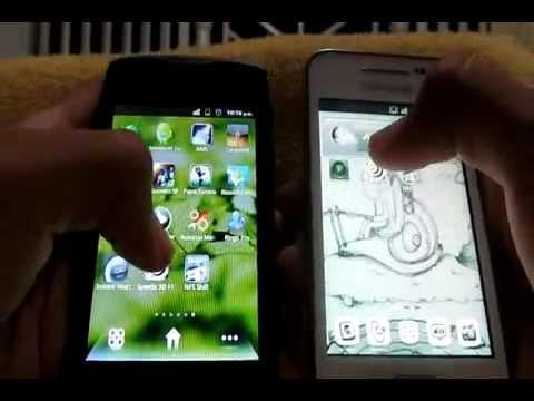 Huawei CM980 Evolución 2 Vs Samsung Galaxy Ace