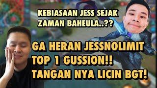 GA HERAN JESSNOLIMIT TOP GLOBAL 1 GUSION, GG BETS CUY !!